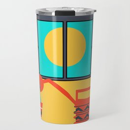 Cactus watering Travel Mug