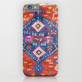 Malatya Yastik Antique East Turkish Rug Print iPhone Case