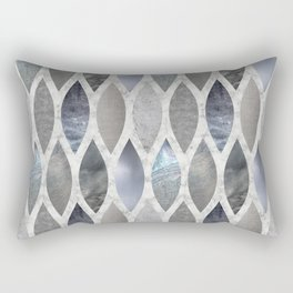 Metallic Armour Rectangular Pillow