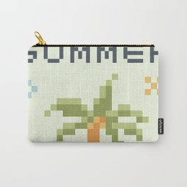 8Bit Palm Tree Carry-All Pouch