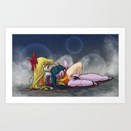 Ultimate Fighting Senshi - Venus Art Print