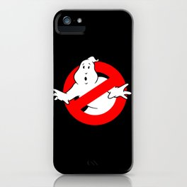 Ghostbusters Black iPhone Case