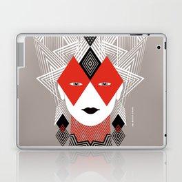 The Queen of diamonds Laptop & iPad Skin