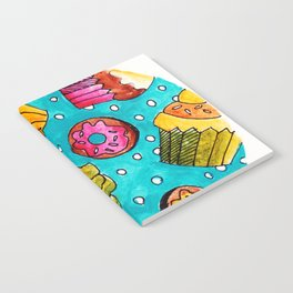 Muffins and doughnuts Notebook