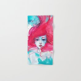 Princess Ariel - Little Mermaid has no tears Hand & Bath Towel