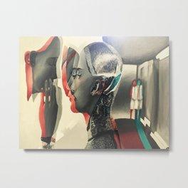 Machina Vision Metal Print