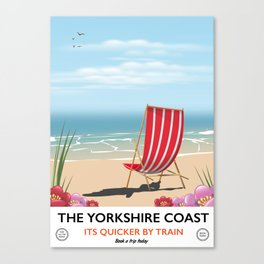 The Yorkshire coast Canvas Print