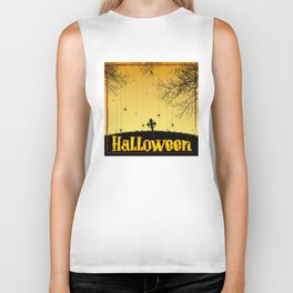 Halloween Biker Tank