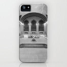 Main Concourse, Grand Central Terminal, New York iPhone Case