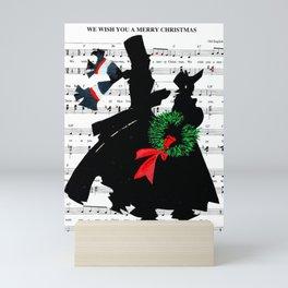 Going Caroling Mini Art Print