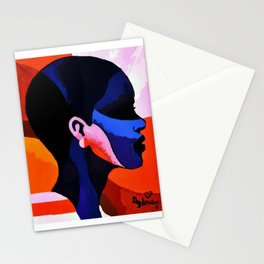 The Black Woman 1 Stationery Cards