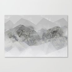 Snowy Mountains Canvas Print