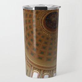 The rotunda of the Capitol building in Madison, Wisconsin Travel Mug