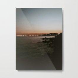 Sunset sea 3 Metal Print