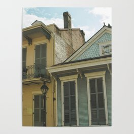 New Orleans Architecture Poster