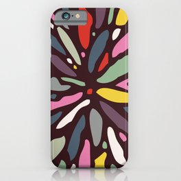 Retro Dahlia iPhone Case