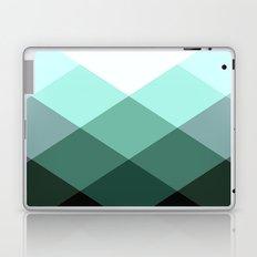 Teal Green Oxford Print Laptop & iPad Skin