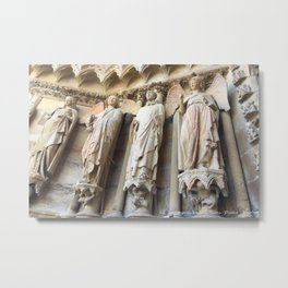 Smile of Reims Metal Print