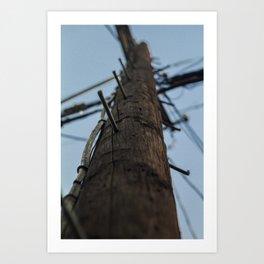 Los Angeles Califoria Sunny Sky Electrical 2018 Art Print
