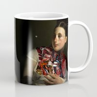 gravity Mugs featuring Gravity by DIVIDUS