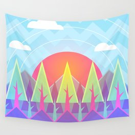 Summer Woods Wall Tapestry
