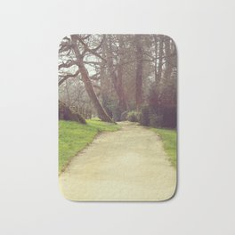Romantic Garden Path Bath Mat