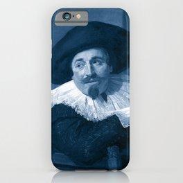 "Frans Hals ""Portrait of Isaac Abrahamsz"" edited iPhone Case"