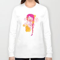 feminism Long Sleeve T-shirts featuring Feminism by Something Quiet