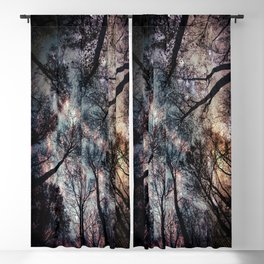 Starry Sky in the Forest Blackout Curtain