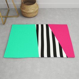 Candy Stripe Sectors Rug