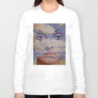 mona lisa Long Sleeve T-shirts featuring Mona Lisa by Michael Creese