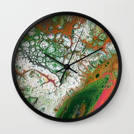 Orange Crush Wall Clock