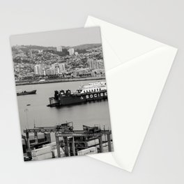 Valparaiso en gris Stationery Cards