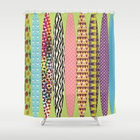 surfing Shower Curtains featuring Surfing? by DesignsByMarly