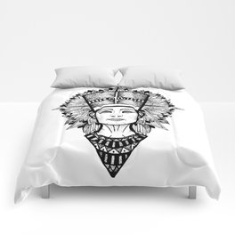 Nefertiti Mandala Comforters