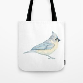 Les Animaux: Tufted Titmouse Tote Bag