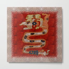 Cipacti Mayan Metal Print