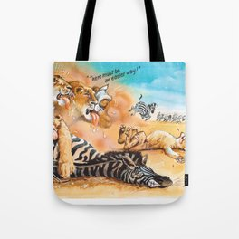there must be an easier way! Tote Bag