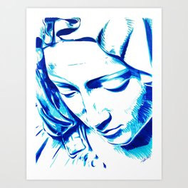 Michelangelo's Pieta Art Print