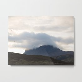 The mountain collection - Assynt, Scotland #3 | landscape fine art photography Metal Print