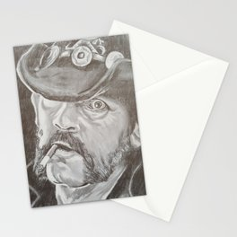 Lemmy Kilmister Stationery Cards