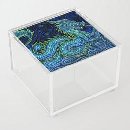 Chinese Azure Dragon Acrylic Box