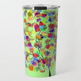 Tree of colors Travel Mug