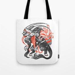 Krampus is Us Tote Bag