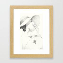 Cup Cake Lovers Framed Art Print