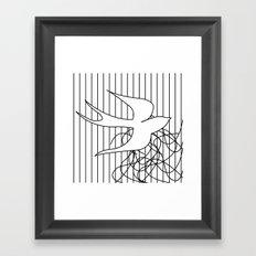Swallow 2 Framed Art Print