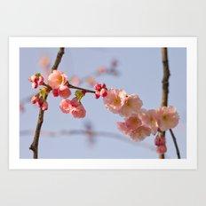Japanese detail Art Print