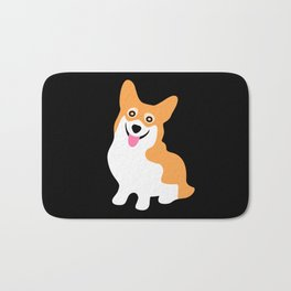 Cute Little Corgi Bath Mat