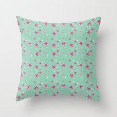 Elsa Frozen Fever Cape pattern Throw Pillow