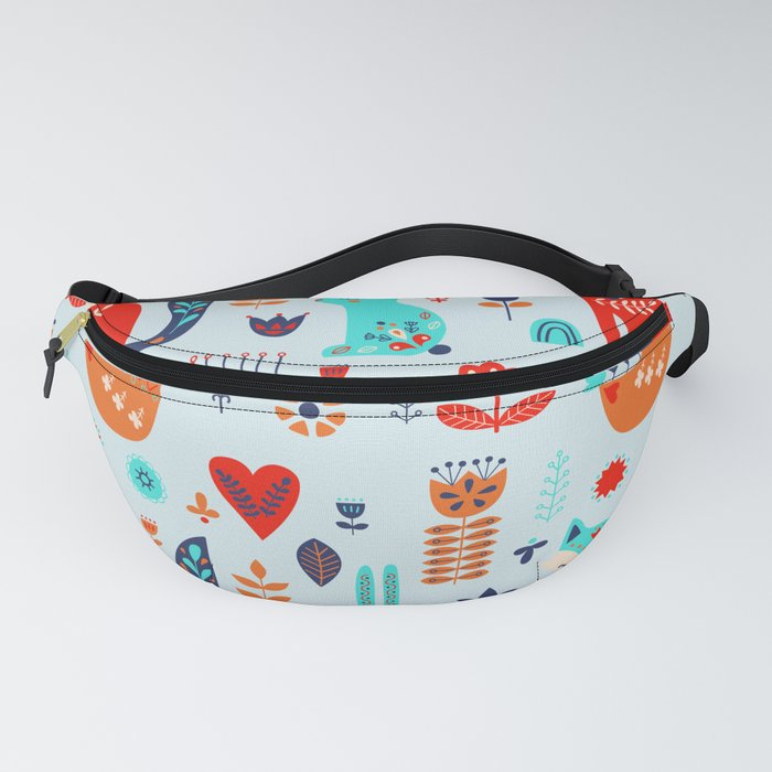 forest cute animals Fanny Pack